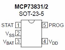 mcp73831sot235
